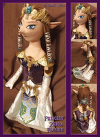 Princess Zelda Plushie by tavington