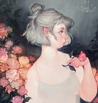 rose by loish