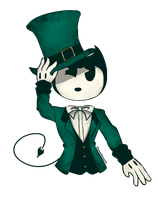 Bendy in St. Patrick's Day by FionnaLover16