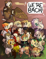 We're Back!! by bagbeingintheknow