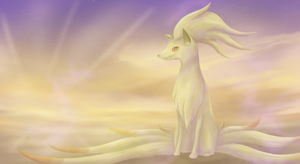 Ninetales by Cinnamon-Quails