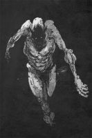 zombie greyscale by TimKelly