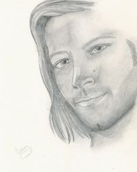 Jared Padalecki as Sam Winchester by Dragonflyfiredoll