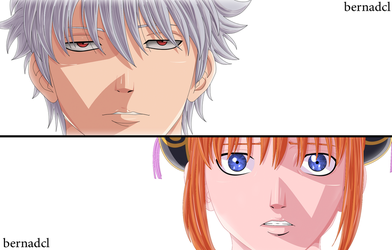 gintama coloring by BlAK-FALcON