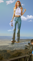 Giantess Bella Thorne's Big Role 1 by dochamps