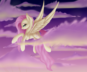 Sunset Soar by JustArt101