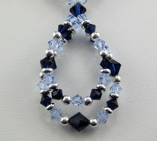 Katerina - Swarovski Necklace by beauxbijoux