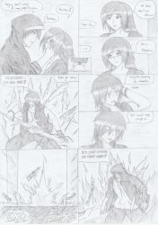 Manga for friend page 11 end by XealXephnosse