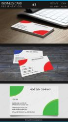 Business Card - Basic and Minimalistic #2 by Valixx