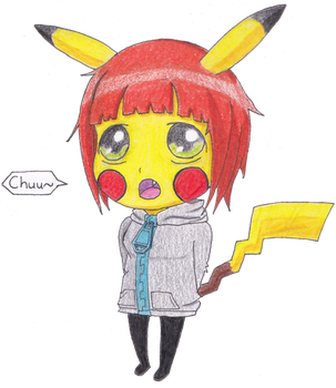 Pika-ChuuStar by redelectric90