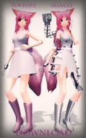[MMD] Toy Foxy and Mangle [DL] by MMD-Anime-Bunny