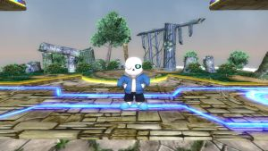 Sans for Super Smash Bros. Switch by SCP-096-2