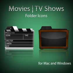 Movies and TV Shows Folders by paulodelvalle