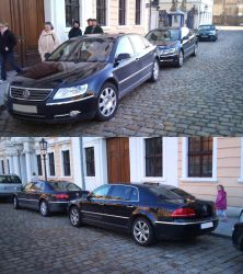 VW Phaeton -Older and new- by Tengai-Skyline