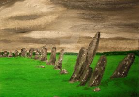 Stone Circle- Donegal, Ireland by JosephJODonnell