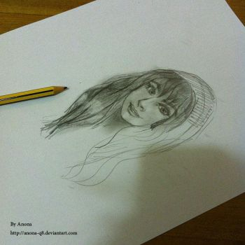 Pencil sketch by AnOnA-Q8