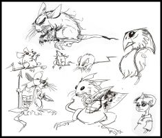 Mice and Rats and Things by jesseaaah