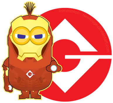 Despicable Me - Iron Minion 1 of 3 by Nawledge