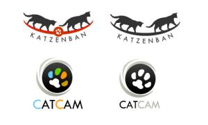katzenban and catcam logo by blue2x