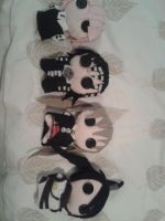 All the soul eater plushies!~ by mollytheimmortal