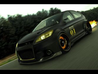 Ford Focus ST by Hossworks