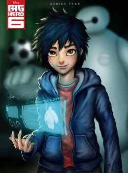 Big hero 6 fan art by AshiroK-on