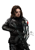 Dart-Winter-Soldier by RayenLiu