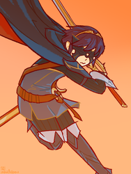 You May Call Me Marth by katribou