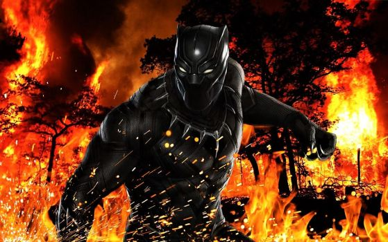 Black Panther by TristanHartup