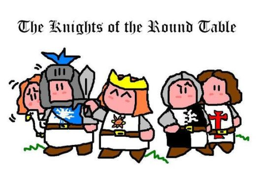 The Knights of the Round Table by Flying-Circus