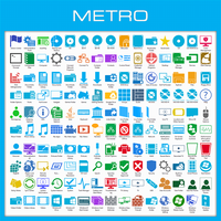 Metro Icon Pack Installer for Windows 8/8.1 by UltimateDesktops