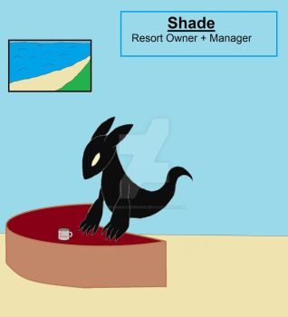 Shade the Shadow Wraith Resort Owner + Manager by MegaMasterKing