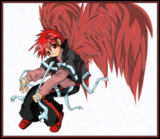 Red Wings by goldfish078