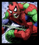Spider Hulk by Dale Keown by DrDoom1081