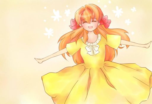 Happy Chiyo! by featheredwings