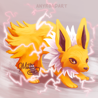 Jolteon - PokeRap by anyroad