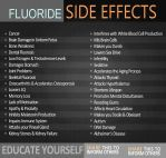 Fluoride side effects by uki--uki