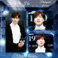 +LEE MIN HO | Photopack #OO1 by AsianEditions