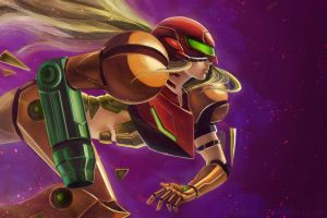 Samus by Morigalaxy