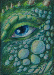 ACEO An Intimate View by teutelquessir