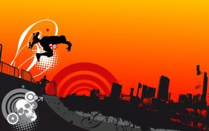 urban-sk8-wallpaper by loosy