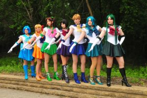 SM :: Sailor Senshi by AnimosityCosplay