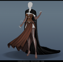 (closed) Outfit Adopt 638 - Enyo by CherrysDesigns