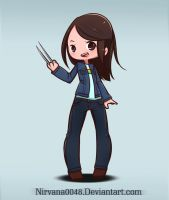 Laura Kinney ( Logan Movie ) by Trauma-a