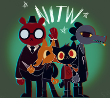 Night in the Woods by TheMinisculeMakahiya