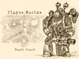Plague Marine by ranin