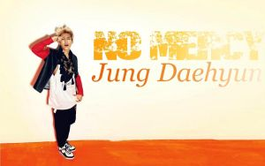 No Mercy Daehyun WP by deathnote290595