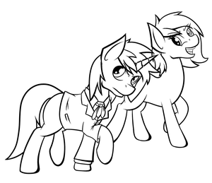 Annoying start (Lineart) by Jordo76