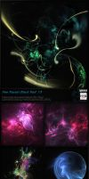 Fractal Stock Pack 13 (transparent PNG) by Hexe78