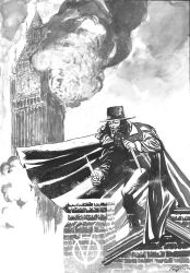 V For Vendetta Commission by marcocastiello